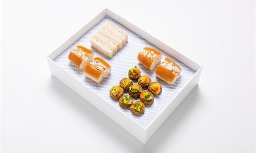 Selection of finger food
