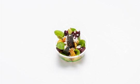 Roasted root veg salad, pesto, pumpkin seed (GF/V) - Individual