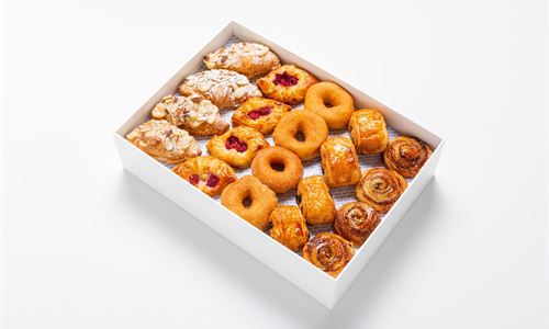A selection of danishes