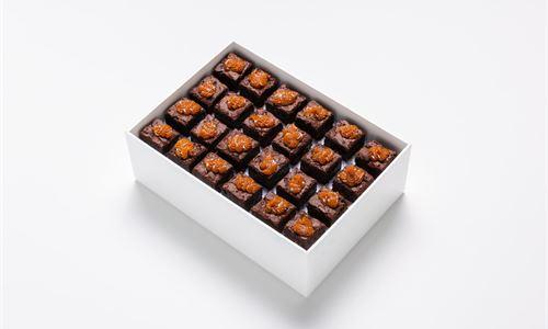 Mini chocolate brownies (GF)