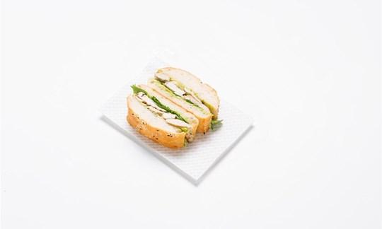 Turkish sandwich - Grilled chicken, avocado, spinach, garlic aioli
