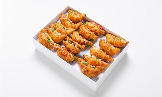 Filled croissants