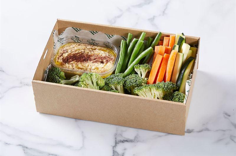 Hummus & Veggie Box