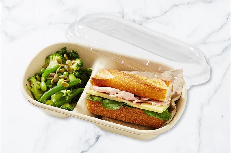 Sandwich & Salad Lunch Pack