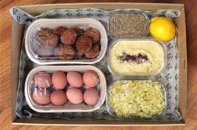 Hazelnut Hummus & Falafels Wholebowl Pack