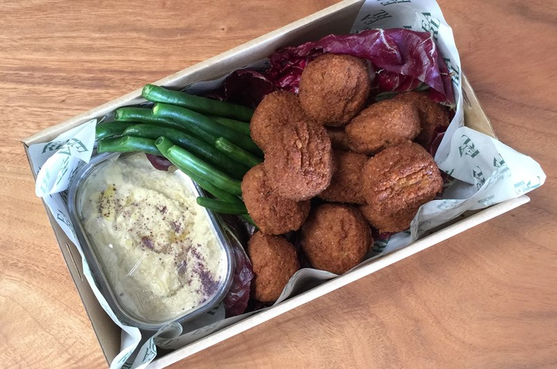 Hummus & Falafel Box