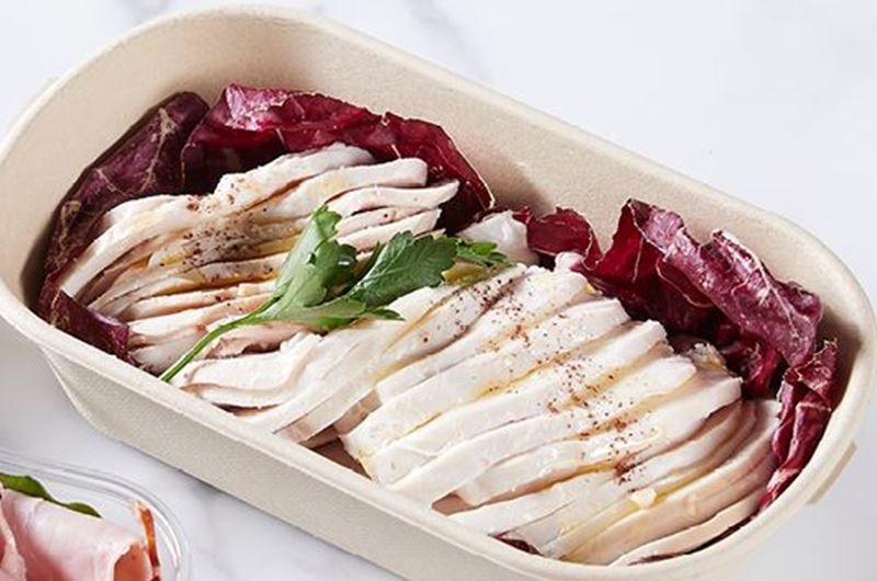 Poached Free-range Chicken Breast - sliced