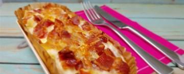 3 Cheese Mac N Cheese with Crispy Bacon