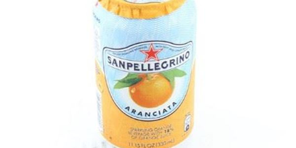 San Pellegrino Sparkling Orange Can