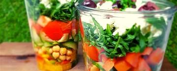 Edgy Veggie Salad - Sunshine Salad with Mustard Seed Dressing