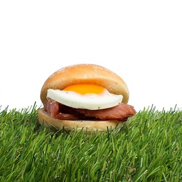 Fried Egg & Bacon Butty