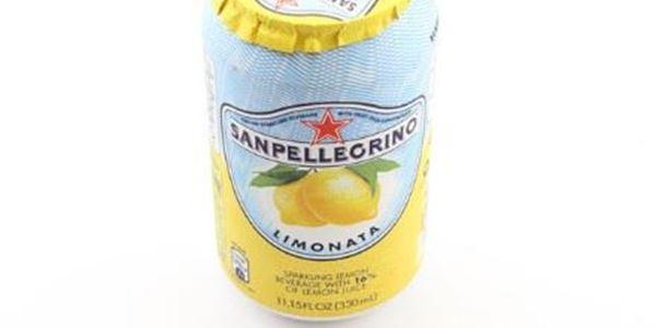 San Pellegrino Sparkling Lemon Can