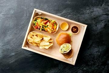 Lunch Box 1 - Veggie