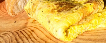 Cheesy Omelette