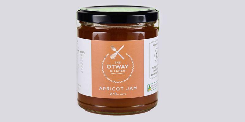 Otway Kitchen Apricot  Jam