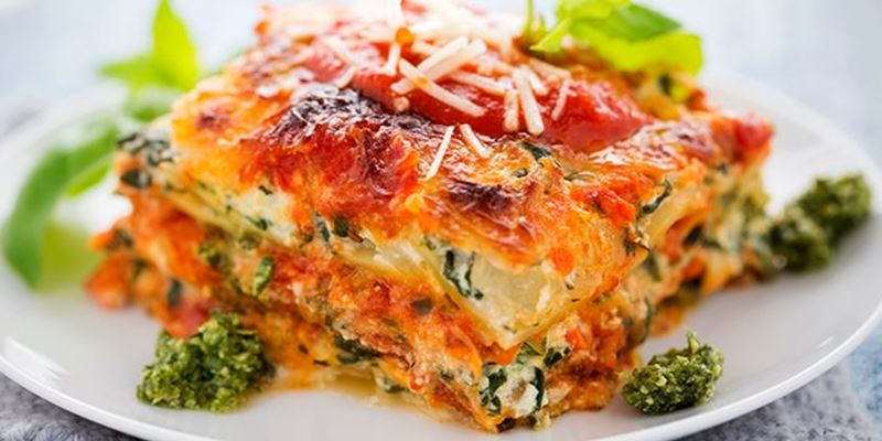 Spinach & Ricotta Lasagne Medium
