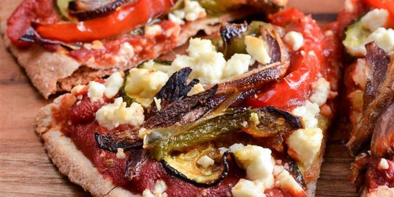 Pizza - Roast Veg and Fetta