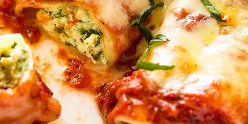 Spinach & Ricotta Cannelloni Small
