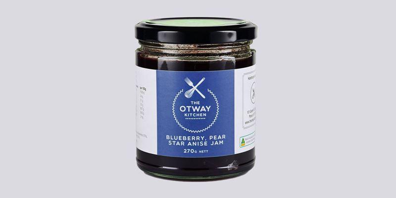 Otway Kitchen Blueberry, Pear, & Star Anise Jam