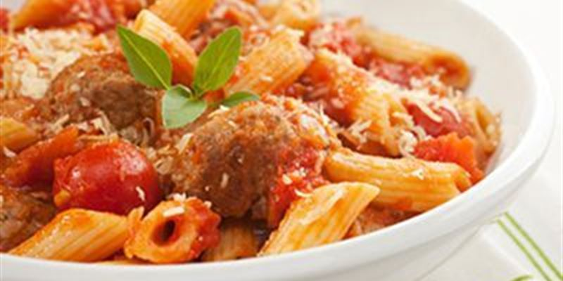 Meatballs with Pasta Small