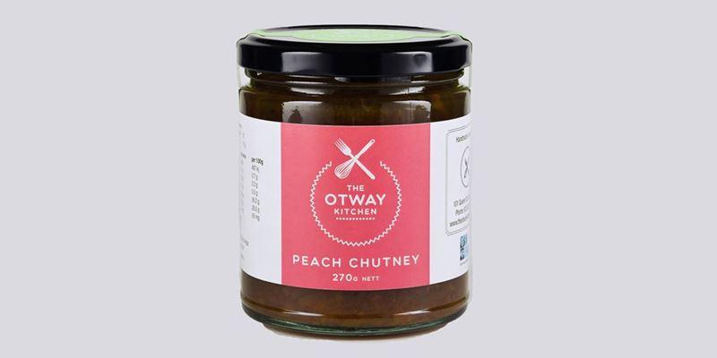Otway Kitchen Peach Chutney