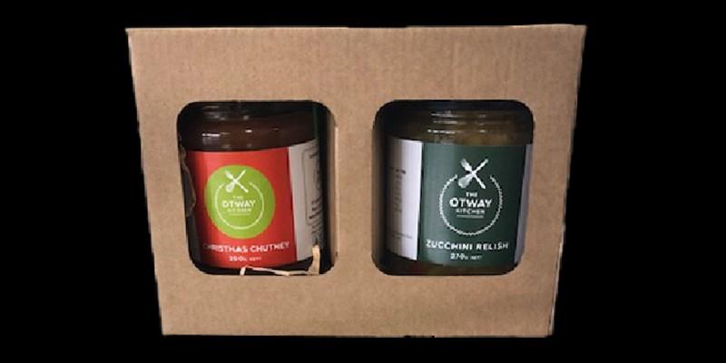 Otway Kitchen Hamper 2 Jar set