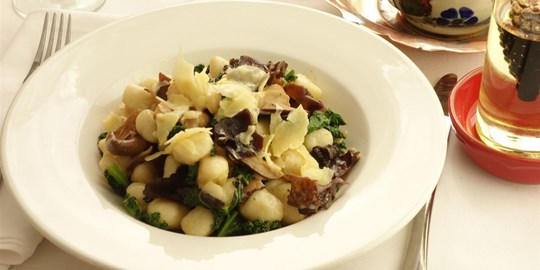 Potato Gnocchi with Wild Mushrooms - Main (V)
