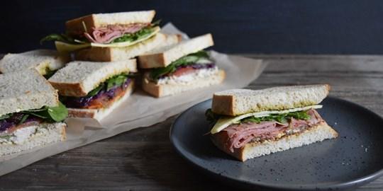 Artisan Sourdough Sandwiches (AV)