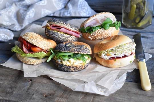 Vegetarian New York Mini Bagel