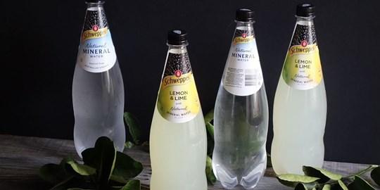 1.10 Litre Lemon & Lime Sparkling Mineral Water