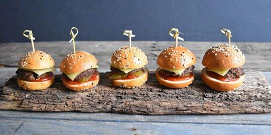 Mini Wagyu Beef Burgers (NF)