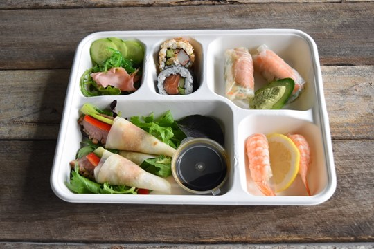 The Finger Food Asian Bento Box (AV)