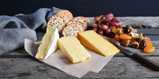 Cheese and Crackers Platter (NF, AG)