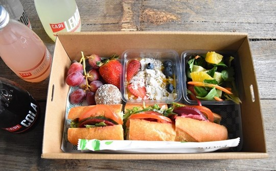 Vegan Variety Lunch Box