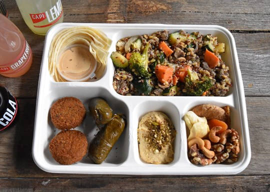 The Middle Eastern Bento Box