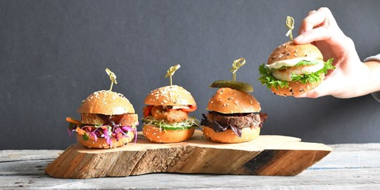 Assorted Sliders (AV, NF)