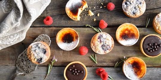 Sweet Tarts (2 per serve)