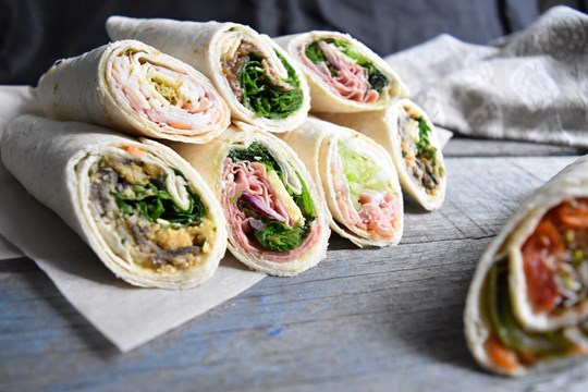 Vegetarian Assorted Wraps