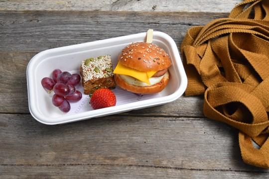 Small Brioche Breakfast Box (AV)