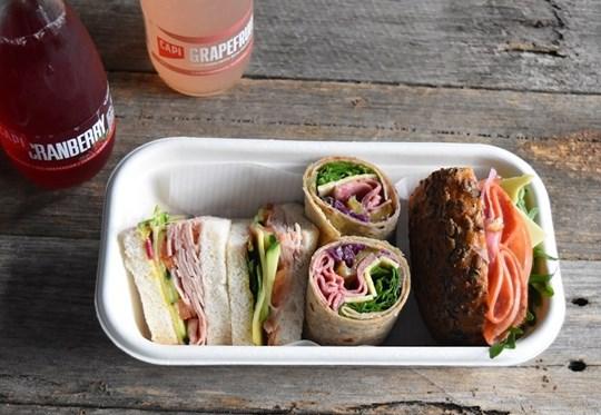 Gluten Free Sandwich Lunch Box 1 (AV, AD)