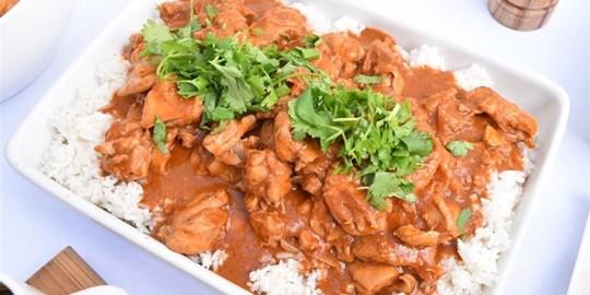 Mild Butter Chicken Curry (G, NF)