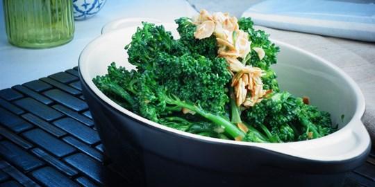 Broccolini Sauteed with Garlic & Lemon Zest (Serves 3)