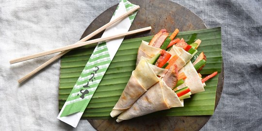 Duck Crepes (NF)