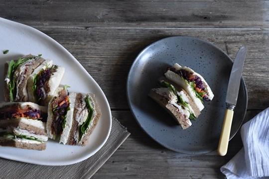 Vegetarian Mixed Sandwich