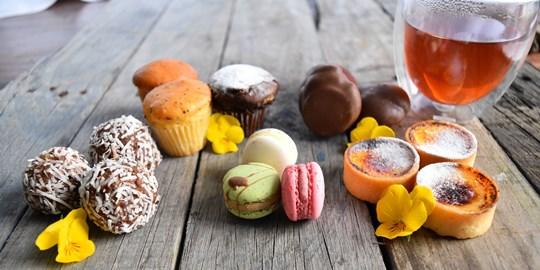 Gluten Free Bite Size Sweets (3 per serve) (G)