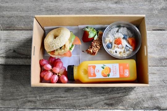 Dairy Free Breakfast Box