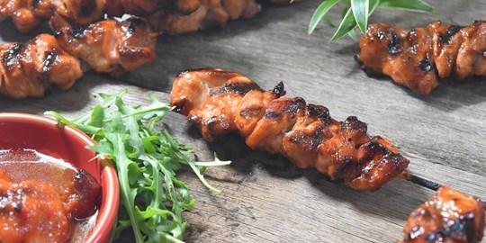 Pinoy BBQ Chicken Skewers (GF, DF & NF)