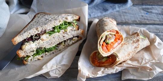 Gluten Free Mixed Sandwiches