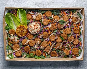 Falafel Salad Vegan