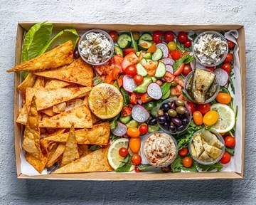 Mezze Platter Vegan